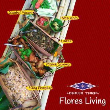jungle-lunch-dapur-tara-flores-restaurant-labuan-bajo